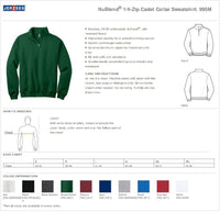 Custom Mens Quarter Zipper Sweatshirt Personalized Sweatshirt Quarter Zip Collar Sweater