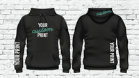 Custom Hoodie Custom Hooded Sweatshirt Heavy Blend Long Sleeve Kangaroo Jacket