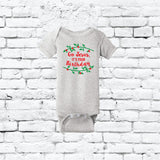 Go Jesus, It's your Birthday Baby Bodysuit Christmas Infant T-shirt Personalized Baby Fine Jersey Shirt Christian Religious Religion