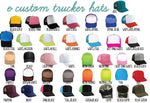 King and Queen Trucker Hats Custom Party Hats Mesh Back Hats with Snapback His and Hers Matching Couples Crown