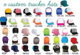 Best B*tchs Trucker Hats Friends Hats Best Friends Mesh Back Hats with Snapback Friendship Hats Any color Hearts BFF Hats