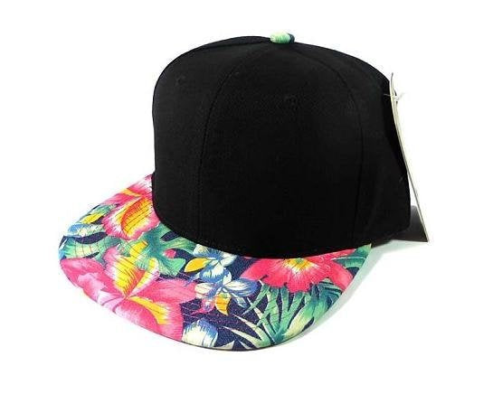 4-Custom Embroidery Hawaiian Snapbacks