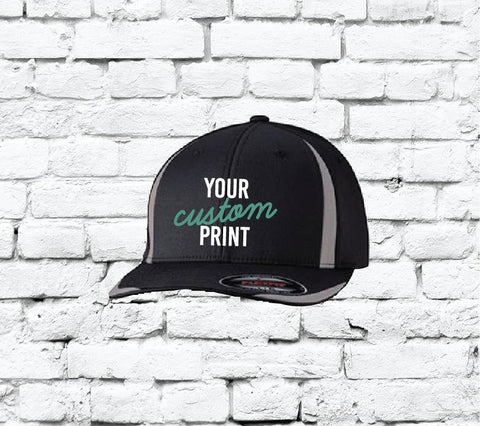 507654c22 Flexfit Fitted Team Baseball Cap Custom Embroidery Your Custom Print Two  Tone Fitted Hat 6599