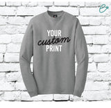 Custom Mens Hanes® Beefy® T Adult T-Shirt Long Sleeve