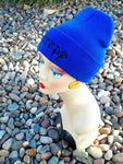 Sleepy Hat Custom Embroidery Beanie Dwarf Hat Your Color Choice Dwarves