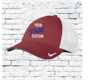 Custom Trucker Hat Nike Cap Custom Embroidery Baseball Cap Mesh Back Your Print