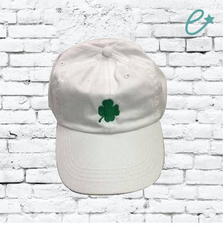 Shamrock Unstructured Dad Hat Saint Patricks Hat St. Patty's Day or Your Color Choice