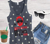 Four Score and Seven Beers Ago Tank 4th of July American Flag Women's Scoop Neck Racer Back Tank Top Shirt Soft Stars Tank Top