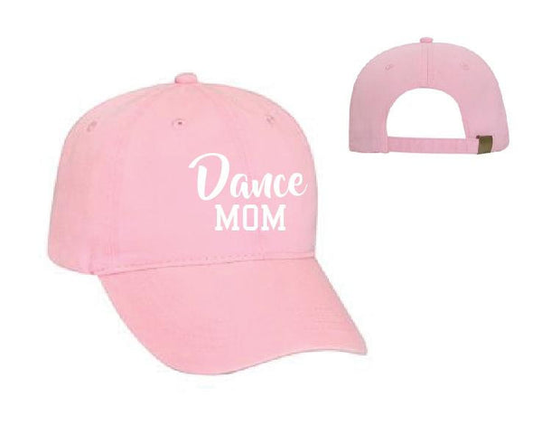Dance Mom Baseball Cap Unstructured Dad Hat Dancer Unisex Supportive Mother or Your Color Choice