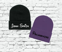 John Smith and Pocahontas Beanie