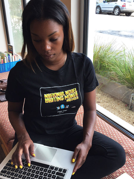 "NaNoWriMo 2013 ""Press Start"" T-Shirt"