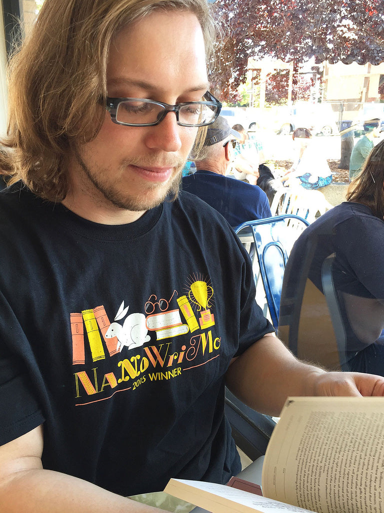 NaNoWriMo 2015 Winner Shirt