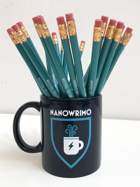 "NaNoWriMo 2017 ""Superpowered Noveling"" Mug"