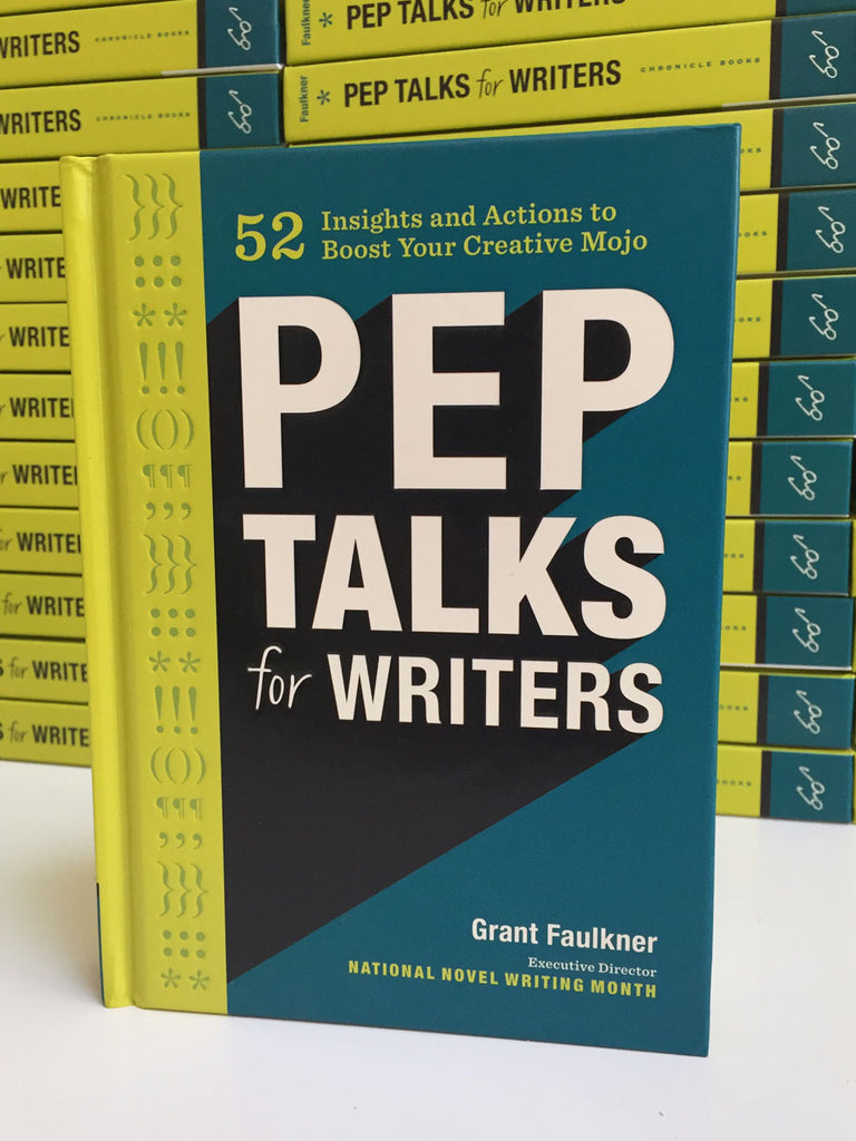 Pep Talks for Writers (Autographed)