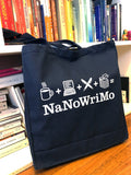 "NaNoWriMo ""Deconstructed Logo"" Tote Bag"