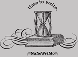 "NaNoWriMo ""Time to Write"" Travel Cup"