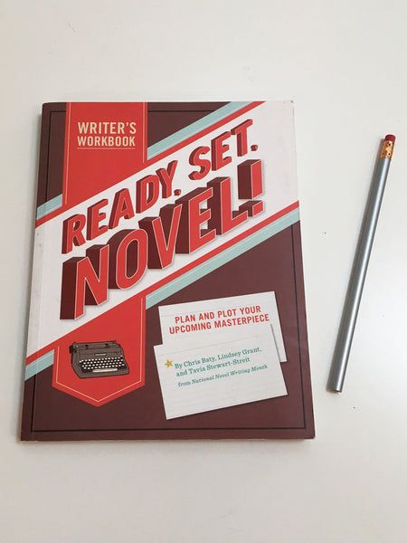 Ready, Set, Novel! (Autographed)