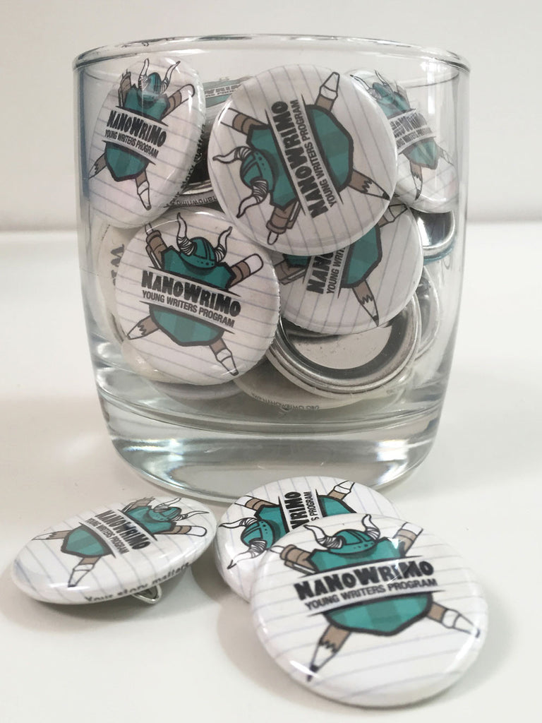 NaNoWriMo YWP Logo Button Pack