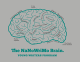 "Young Writers Program ""Writer's Brain"" Shirt"