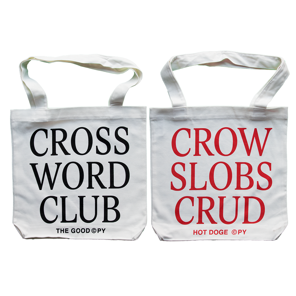 Crossword Club Tote Bag The Good Copy Logic Diagram Clue
