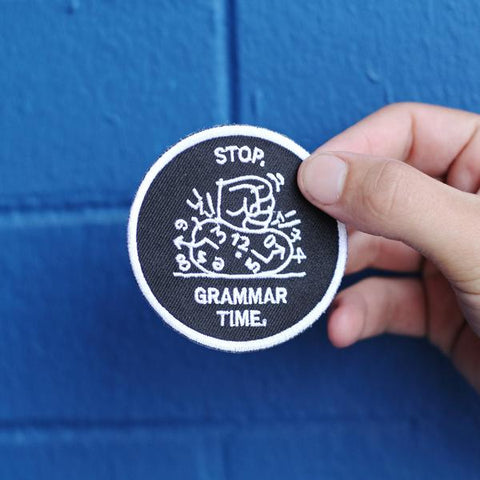 Stop. Grammar Time. | MEL | Saturday | 4 May