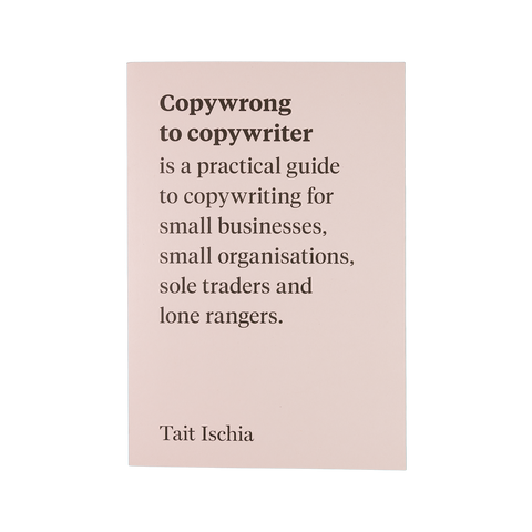 Copywrong to Copywriter