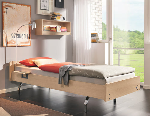 NEW - Carino bed with adjustable back rest