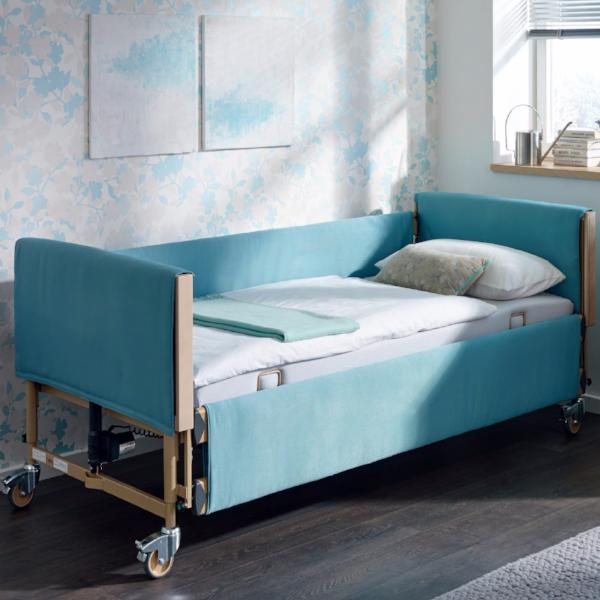 Soft covers for the Economic Low homecare bed