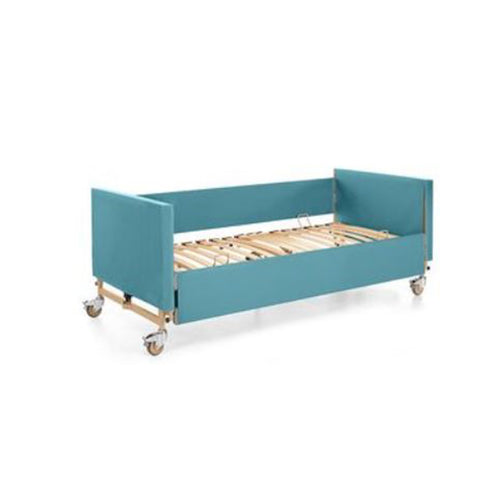 Soft covers (Dali Econ) - head and foot boards + side rails - turquoise