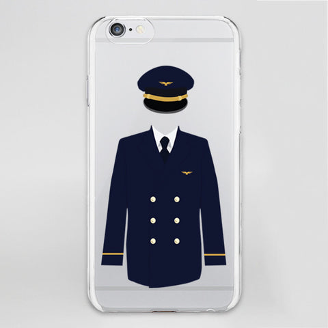 Pilot Uniform Designed iPhone Cases