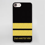 Pilot Epaulette iPhone Cases (1,2,3,4 Lines)