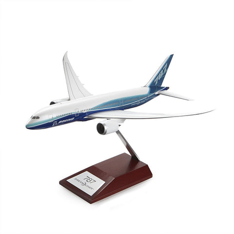 787-8 Snap-Together Model with Wood Base