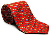 Airplane Silk Twill Novelty Tie