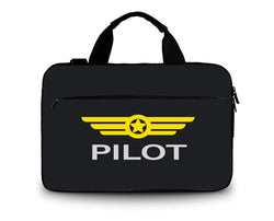 Pilot & Badge Printed Laptop & Tablet Bags and Cases