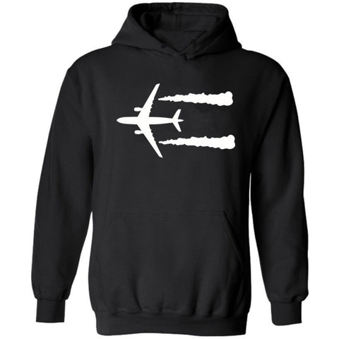 Cruising Airplane Designed Hoodies