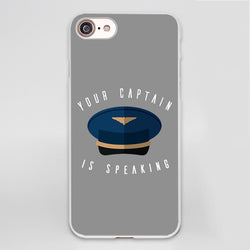 Your Captain is Speaking Designed iPhone Cases