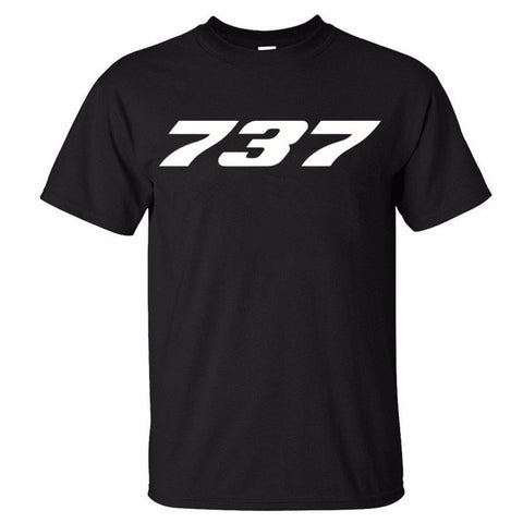 "Boeing ""737"" Designed T-Shirts"