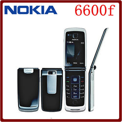 Nokia 6600f Bluetooth 3G Cell Phone One year warranty