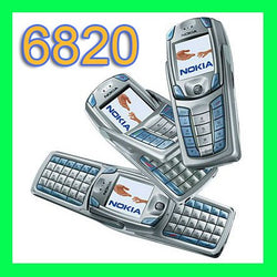 Nokia 6820 Cell Phone  GSM 900/1800/1900 QWERTY Keyboard Only English and French language