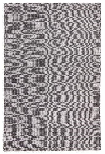 Skandi 308 BLACK Colour Wool Rugs Modern Rugs Contemporary Modern Floor Rugs