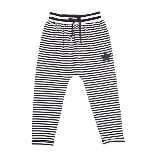 PIRATE STRIPE RELAXED PANT