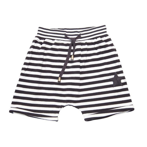 PIRATE STRIPED RELAXED SHORT