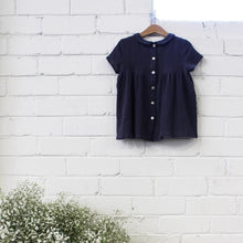 Moira Top Navy