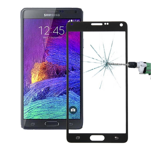 Explosion-proof Full Screen Tempered Glass Film for Samsung Galaxy Note 4(Black)