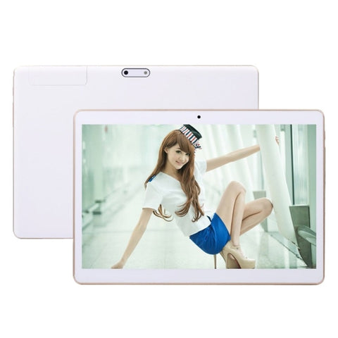 3G Phone Call Tablet PC, 9.6 inch, 2GB+32GB, Android 5.1 MTK6592 Octa Core, WCDMA, GPS(White)
