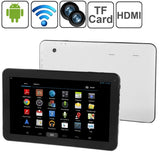 10.1 inch Tablet PC 32GB, Android 5.1, Allwinner A64 Quad Core 1.2GHz, RAM: 1GB(White)