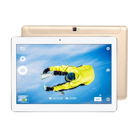 VOYO Q101 4G Call Tablet, 10.1 inch, 2GB+32GB, Android 6.0 MT6753 Octa Core 1.5GHz, Network: 4G, Support OTG & GPS  & Dual SIM & Bluetooth & WiFi(Gold)