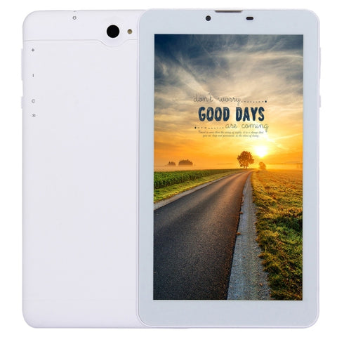 4G Phone Call Tablet PC, 7.0 inch, 1GB+8GB, Android 5.1 MTK8735M Quad Core ARM Cortex A53 1.0GHz, OTG, WiFi, Bluetooth, GPS, Dual SIM(White)