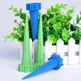 4 PCS Cone Watering Spike Automatic Watering Irrigation Spike Garden Plant Flower Drip Sprinkler, Random Color Delivery