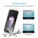 2 PCS OnePlus 5 0.3mm 9H Surface Hardness 2.5D Explosion-proof Non-full Screen Tempered Glass Screen Film